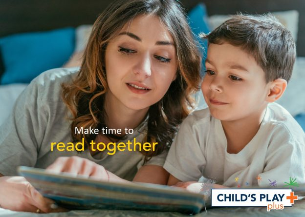 Make time to read together!