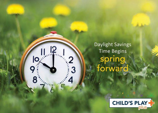 Reminder to set your clocks FORWARD 1 hour!